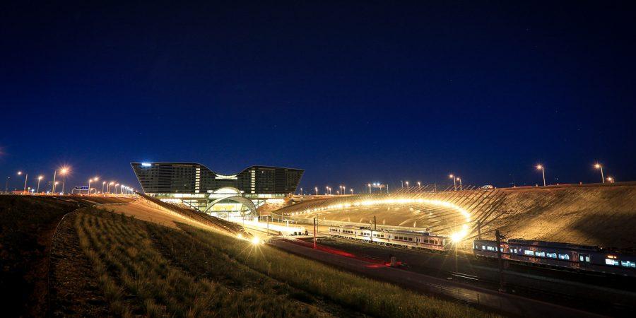Denver International Airport To Turn Off Lights On U0027Mustang,u0027 U0027Shadow  Arrayu0027 Art For Earth Hour